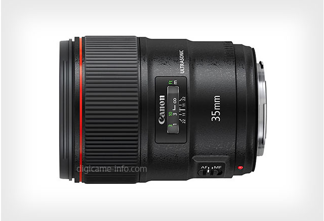 Canon 35mm f/1.4L II Photo and Specs Leaked